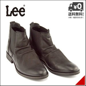 リー サイドゴアブーツ ショートブーツ メンズ ウェーコ 限定モデル WACO Lee 776139 ブラック shoesdirect