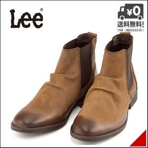 リー サイドゴアブーツ ショートブーツ メンズ ウェーコ 限定モデル WACO Lee 776139 ブラウン shoesdirect