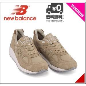 ニューバランス ランニングシューズ スニーカー レディース M990 D new balance 171990 タン|shoesdirect