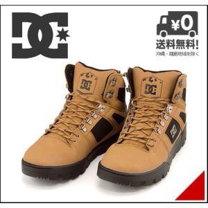 ディーシーシュー ハイカット スニーカー ブーツ メンズ 撥水 SPARTAN HIGH WR BOOT DC SHOE ADYB100001 ウィート/ダークチョコレート|shoesdirect