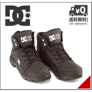 ディーシーシュー ハイカット スニーカー ブーツ メンズ トースタイン 軽量 TORSTEIN DC SHOE ADMB700008 ブラック/アスレチックレッド/ホワイト|shoesdirect