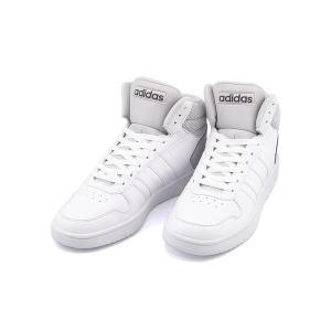 アディダス ハイカット スニーカー メンズ アディフープス ミッド 2.0 ADIHOOPS MID 2.0 adidas DB0106 ランニングホワイト/R/グレーワン...