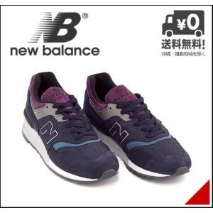 ニューバランス ランニングシューズ スニーカー メンズ M997 D new balance 170997 ネイビー|shoesdirect