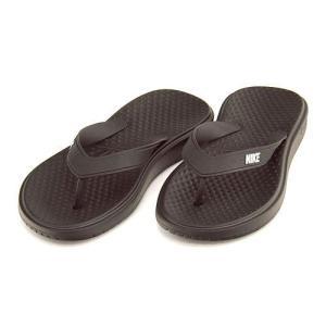 ナイキ ソレイ ソング メンズ ビーチ サンダル SOLAY THONG NIKE 882690 ブラック/ホワイト/ブラック|shoesdirect