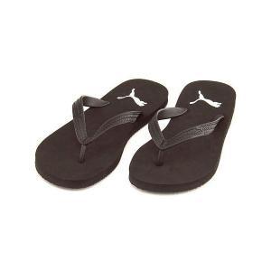 プーマ ファースト フリップ メンズ ビーチ サンダル FIRST FLIP PUMA 360252 ブラック/ホワイト|shoesdirect