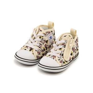コンバース ベビーシューズ スニーカー 女の子 キッズ ベビー 子供靴 ベビー オールスター N ミニーマウス PT Z converse 7CK901 マルチ|shoesdirect