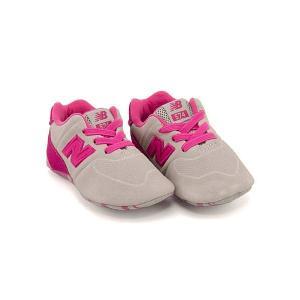 ニューバランス スニーカー 女の子 男の子 キッズ ベビー 子供靴 KL574C new balance 173574 ピンク|shoesdirect