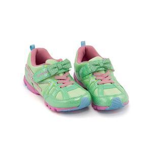 スーパースター バネのチカラ ランニングシューズ スニーカー 女の子 キッズ 子供靴 パワーバネ リボン EE SS SUPERSTAR K2984G ミント|shoesdirect