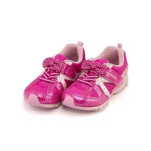 スーパースター バネのチカラ ランニングシューズ スニーカー 女の子 キッズ 子供靴 パワーバネ リボン EE SS SUPERSTAR K2984G ピンク|shoesdirect