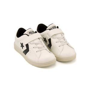 コンバース 女の子 男の子 キッズ 子供靴 スニーカー キッズ ネオ P-L KIDS NEO P-L converse 32619931 ホワイト/ブラック|shoesdirect