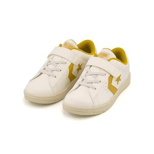 コンバース 女の子 男の子 キッズ 子供靴 スニーカー キッズ ネオ P-L KIDS NEO P-L converse 32619930 ホワイト/ゴールド|shoesdirect