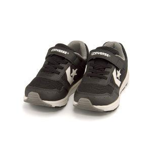 コンバース ランニングシューズ スニーカー 女の子 男の子 キッズ 子供靴 キッズ ウェーブトレーナー converse 32619941 ブラック/ホワイト|shoesdirect