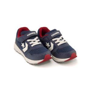 コンバース ランニングシューズ スニーカー 女の子 男の子 キッズ 子供靴 キッズ ウェーブトレーナー converse 32619945 ネイビー/ホワイト/レッド|shoesdirect