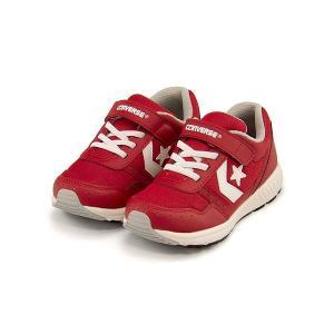 コンバース ランニングシューズ スニーカー 女の子 男の子 キッズ 子供靴 キッズ ウェーブトレーナー converse 32619942 レッド/ホワイト|shoesdirect