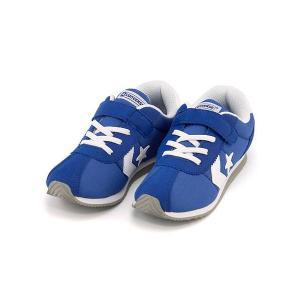 コンバース 女の子 男の子 キッズ 子供靴 スニーカー キッズ RM KIDS RM  converse 32619956 ブルー/W|shoesdirect