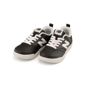 ニューバランス ローカット スニーカー 女の子 男の子 キッズ 子供靴 KT300 new balance 171300 ブラック/ホワイト|shoesdirect