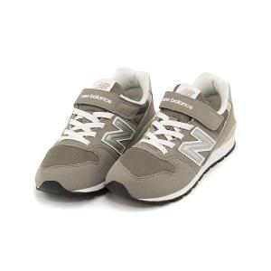 ニューバランス 女の子 男の子 キッズ 子供靴 スニーカー KV996 ゴム紐 new balance 173996 グレー|shoesdirect
