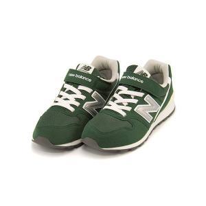 ニューバランス ランニングシューズ スニーカー 女の子 男の子 キッズ 子供靴 通学靴 運動靴 KV996 new balance 173996 フォレストグリーン|shoesdirect