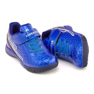 スーパースター バネのチカラ 男の子 キッズ 子供靴 ランニングシューズ スニーカー パワーバネ EE SUPERSTAR K739 ブラック|shoesdirect