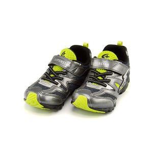 スーパースター バネのチカラ ランニングシューズ スニーカー 男の子 キッズ 子供靴 パワーバネ EE SUPERSTAR K783 ガンメタ|shoesdirect