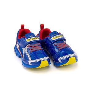 スーパースター バネのチカラ ランニングシューズ スニーカー 男の子 キッズ 子供靴 パワーバネ 3E 幅広 SS SUPERSTAR K2983G ブルー|shoesdirect