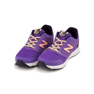 ニューバランス 女の子 キッズ 子供靴 ランニングシューズ スニーカー KJ455 カジュアル スポーツ new balance 170455 パープル|shoesdirect