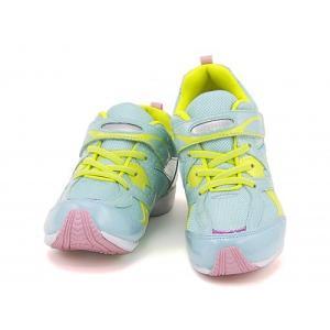 スーパースター バネのチカラ 女の子 キッズ 子供靴 運動靴 通学靴 ランニングシューズ スニーカー ストラップ EE SS SUPERSTAR J3003 ミント|shoesdirect