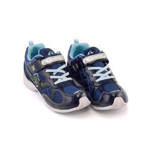 スーパースター バネのチカラ ランニングシューズ スニーカー 女の子 キッズ 子供靴 パワーバネ EE SS SUPERSTAR J2995G ネイビー(白底)|shoesdirect