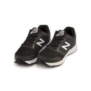 ニューバランス ランニングシューズ スニーカー 女の子 男の子 キッズ 子供靴 KJ455 軽量 new balance 170455 ブラック/ホワイト|shoesdirect