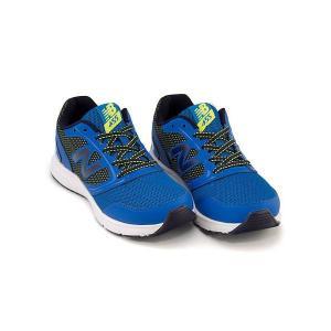 ニューバランス ランニングシューズ スニーカー 女の子 男の子 キッズ 子供靴 KJ455 軽量 new balance 170455 ブルー/グリーン|shoesdirect