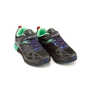 スーパースター バネのチカラ ランニングシューズ スニーカー 男の子 キッズ 子供靴 ビッグバンショット 軽量 EE SUPERSTAR J3045 ブラック|shoesdirect