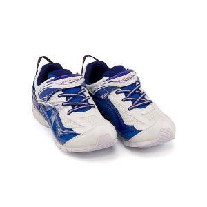 スーパースター バネのチカラ ランニングシューズ スニーカー 男の子 キッズ 子供靴 パワーバネ EE SS SUPERSTAR J2993G ホワイト/ブルー(白底)|shoesdirect