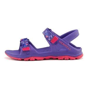 メレル スポーツ サンダル 女の子 男の子 キッズ 子供靴 ハイドロ ドリフト HYDRO DRIFT MERRELL MC56495 パープル/コーラル|shoesdirect