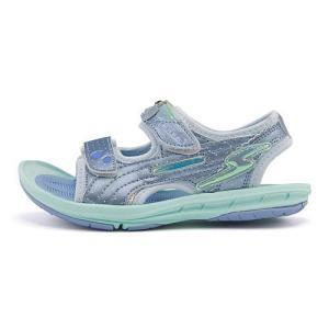 スーパースター バネのチカラ 女の子 キッズ 子供靴 スポーツ サンダル スタージュエリーコレクション SS SUPERSTAR SK759 サックス|shoesdirect