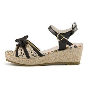 厚底 サンダル ウェッジソール アンクルストラップ 女の子 キッズ 子供靴 美脚 リップザスウェル Rip the Swell 852052 ブラック|shoesdirect