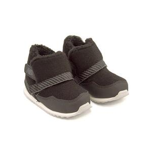 ニューバランス ベビーシューズ ブーツ 女の子 男の子 キッズ ベビー 子供靴 FB996S 内ボア new balance 176996 ブラック|shoesdirect