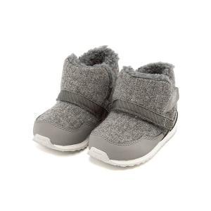 ニューバランス ベビーシューズ ブーツ 女の子 男の子 キッズ ベビー 子供靴 FB996S 内ボア new balance 176996 グレー|shoesdirect