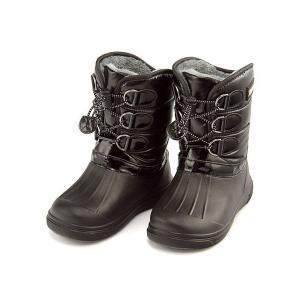 ウィンターブーツ スノーブーツ 長靴 女の子 男の子 キッズ 子供靴 防水 軽量 チャーキーズ CHARKIES CH2030 ブラック|shoesdirect