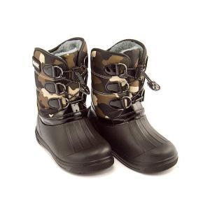 ウィンターブーツ スノーブーツ 長靴 女の子 男の子 キッズ 子供靴 防水 軽量 チャーキーズ CHARKIES CH2030 グリーン/コンビ|shoesdirect