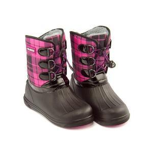 ウィンターブーツ スノーブーツ 長靴 女の子 男の子 キッズ 子供靴 防水 軽量 チャーキーズ CHARKIES CH2030 ピンク|shoesdirect