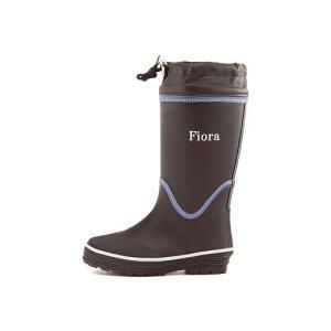 レインブーツ ハーフブーツ 長靴 レディース ローヒール ドローコード 防水 防滑 フィオラ Fiora 6778 ブラック|shoesdirect