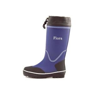 レインブーツ ハーフブーツ 長靴 レディース ローヒール ドローコード 防水 防滑 フィオラ Fiora 6778 ネイビー|shoesdirect