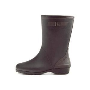 レインブーツ ハーフブーツ 長靴 レディース コサック ローヒール 防水 防滑 3E 第一ゴム G333 ブラック|shoesdirect