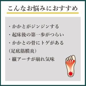 インソールプロ 足底筋膜炎 対策  中敷き インソール 衝撃吸収 かかと 足底筋膜 レディース|shoesfit|04