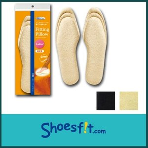フィッティングピロー 足裏 枕 中敷き インソール 衝撃吸収 サイズ調整 低反発 クッション レディース  |shoesfit