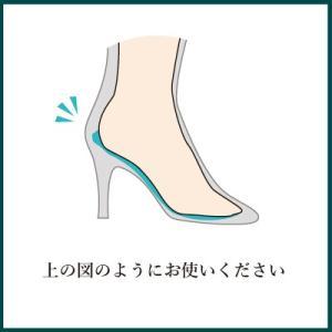 フィッティングピロー 足裏 枕 中敷き インソール 衝撃吸収 サイズ調整 低反発 クッション レディース  |shoesfit|04