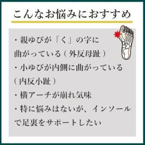 インソールプロ 外反母趾 対策 中敷き インソール 衝撃吸収 内反小趾 メンズ|shoesfit|03
