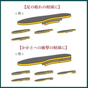 極厚 インソール 衝撃吸収 中敷き サイズ調整 クッション かかと 土踏まず つま先 厚い|shoesfit|04