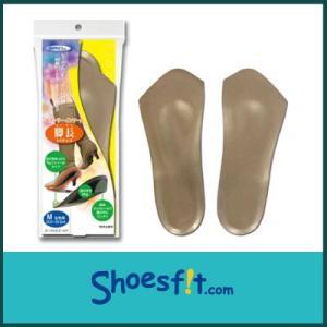 ヘブンリーインソール 脚長 3/4 サイズ 中敷き 衝撃吸収 インヒール レディース|shoesfit