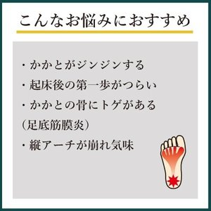 インソールプロ  キング かかと 対策 中敷き インソール 衝撃吸収 足底筋膜炎 足底筋膜 メンズ|shoesfit|03